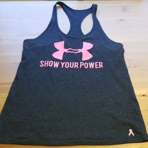 Under Armour Breast cancer awareness racerback